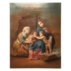 19th Century Religious Painting of Italian School