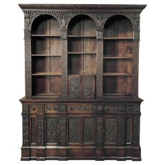 19th Century Renaissance Bookcase