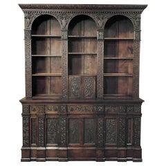 19th Century Renaissance Bookcase