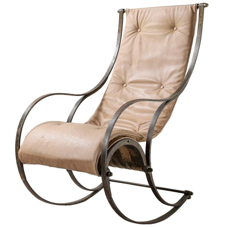 19th Century Rocking Chair For Sale