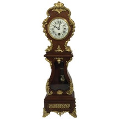 19th Century Rococo Style Miniature Longcase Clock