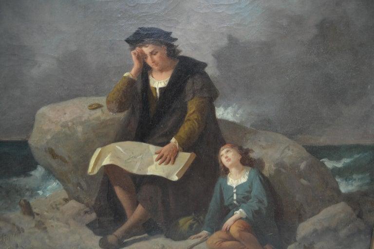 19th Century Romantic Movement Painting