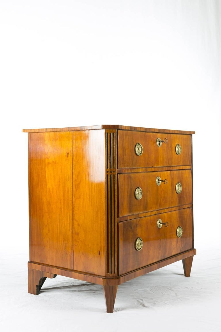 19th Century Rosewood Chest of Drawers 3