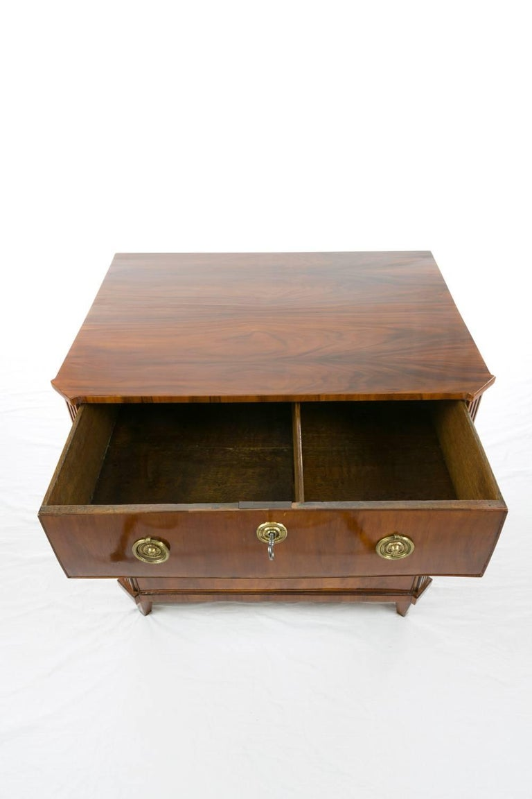 19th Century Rosewood Chest of Drawers 6