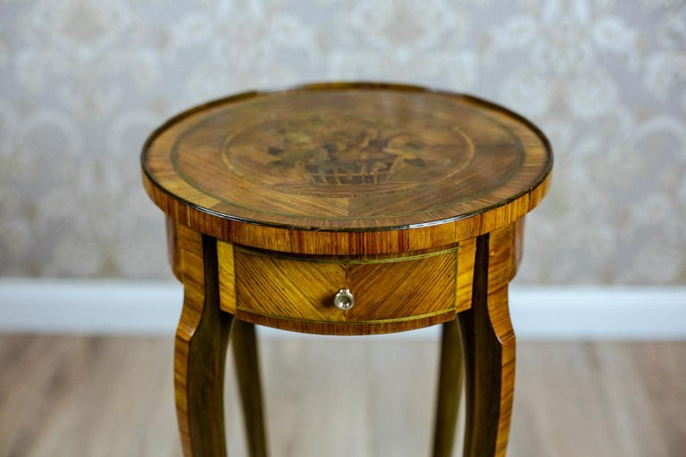 French 19th Century Rosewood End Table For Sale
