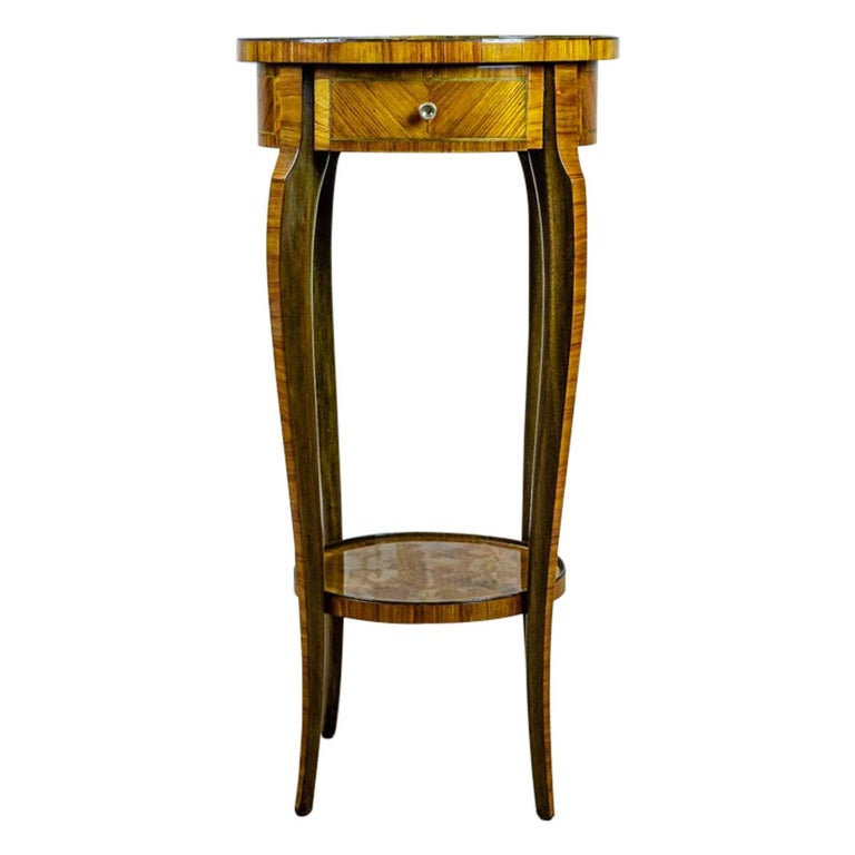19th Century Rosewood End Table For Sale