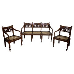 19th Century Rosewood Parlor Set