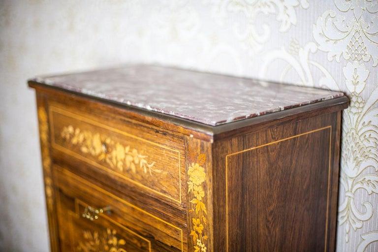 19th Century Rosewood Secretary Desk For Sale 6
