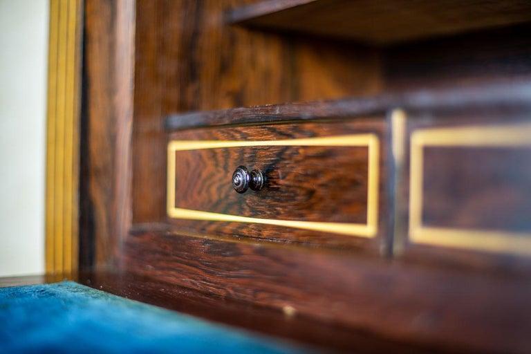 19th Century Rosewood Secretary Desk For Sale 7