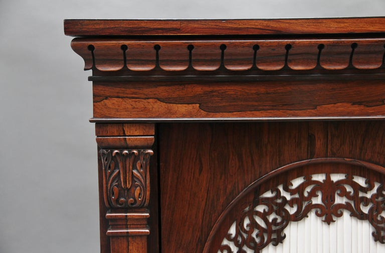 19th Century Rosewood Side Cabinet For Sale 7