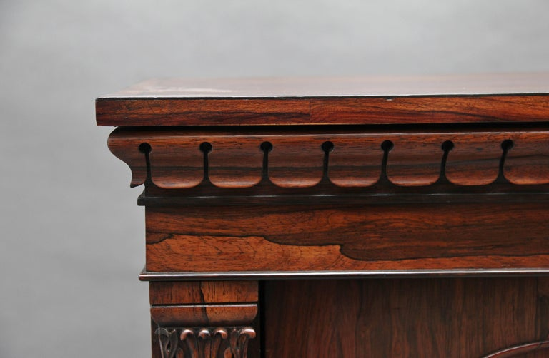 19th Century Rosewood Side Cabinet For Sale 8