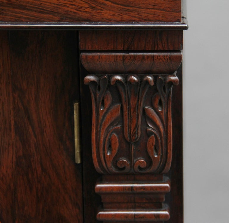 19th Century Rosewood Side Cabinet For Sale 9