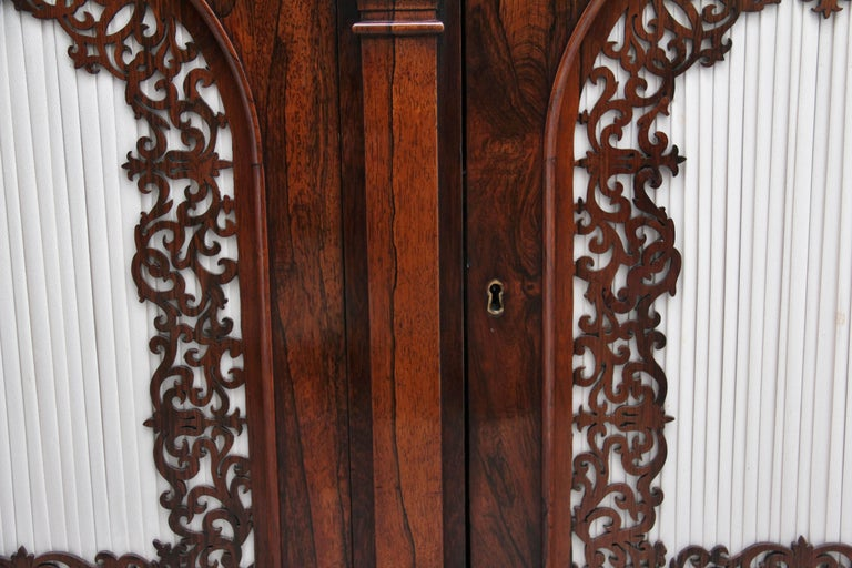 19th Century Rosewood Side Cabinet For Sale 10