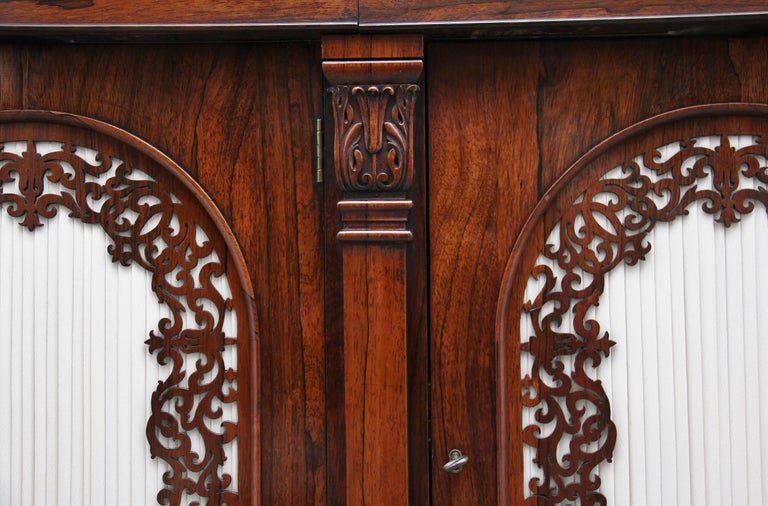 19th Century Rosewood Side Cabinet For Sale 11