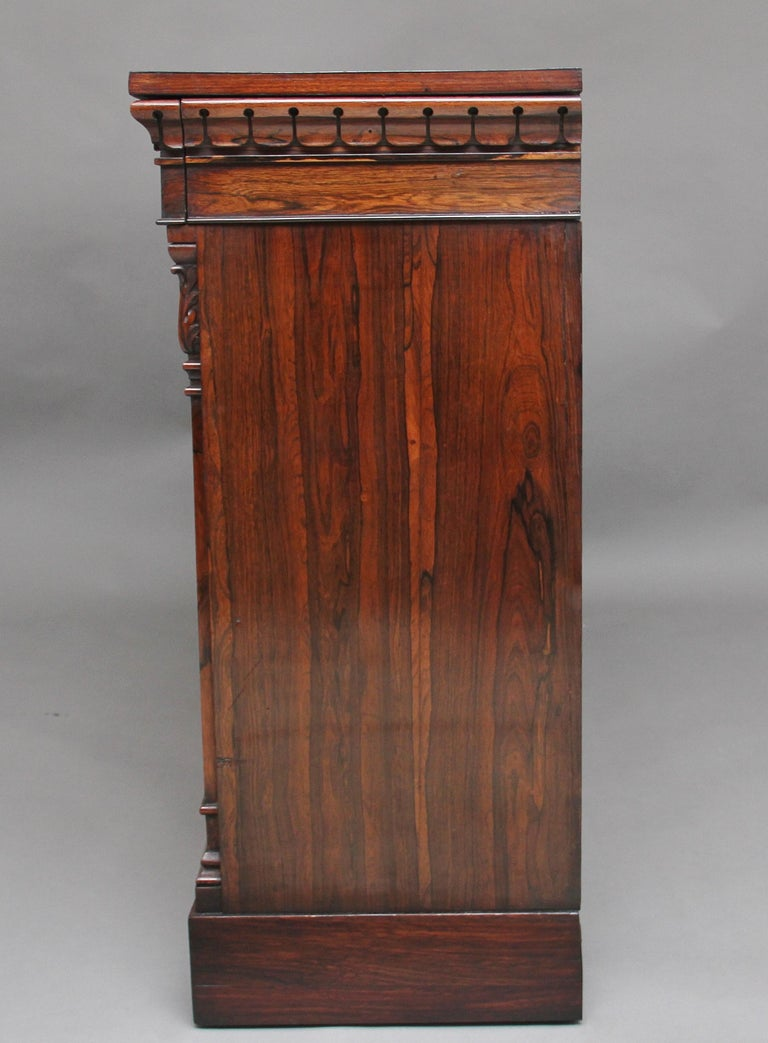 Mid-19th Century 19th Century Rosewood Side Cabinet For Sale