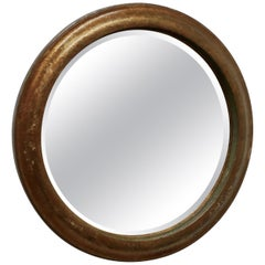 19th Century Round French Wall Mirror