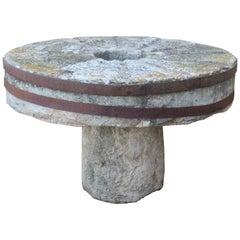 19th Century Round Stone Table