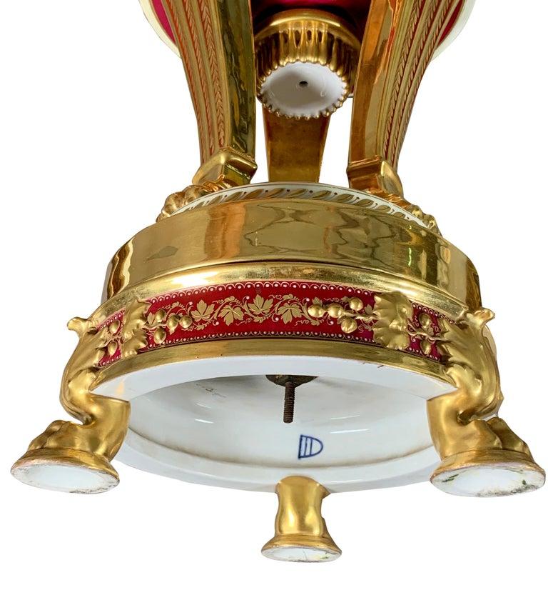 19th Century Royal Vienna Porcelain Urn / Vase For Sale 7