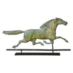 19th Century Running Horse Weathervane