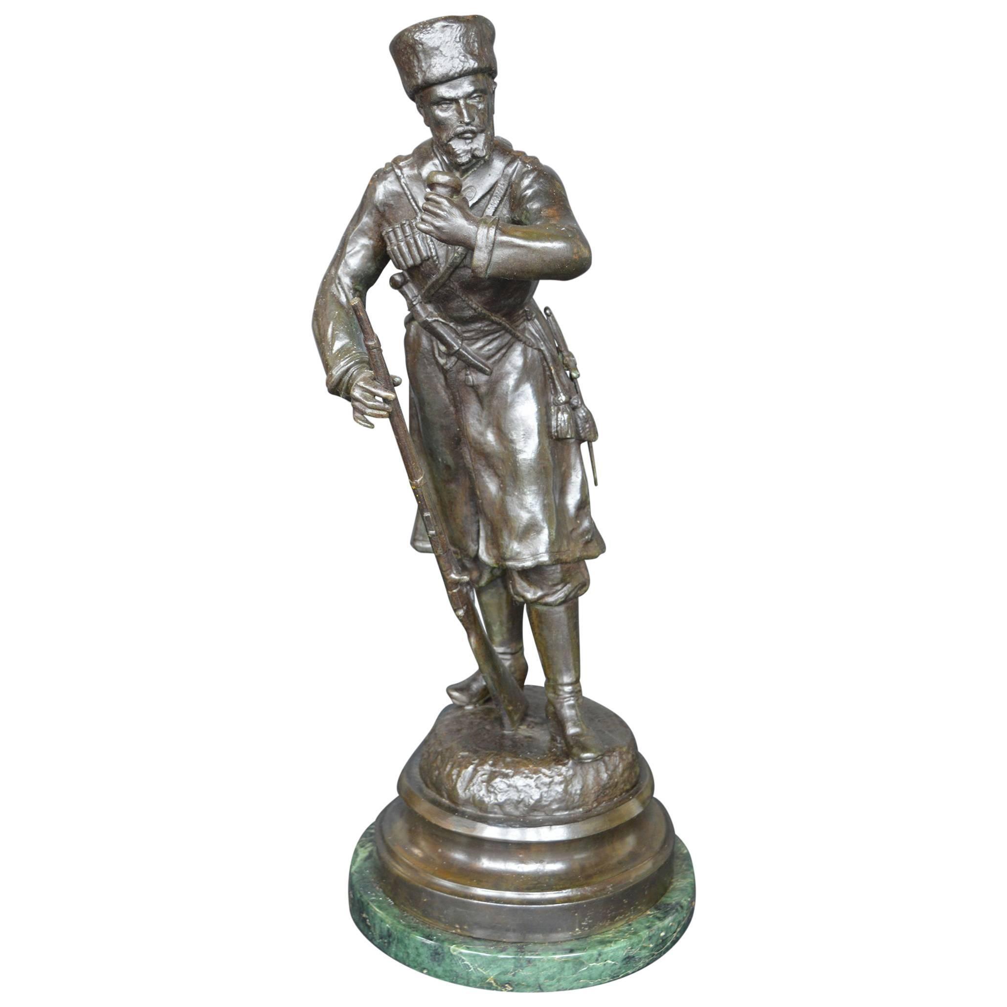 19th Century Russian Bronze Sculpture