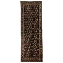 19th Century Russian Karabagh Handwoven Wool Rug