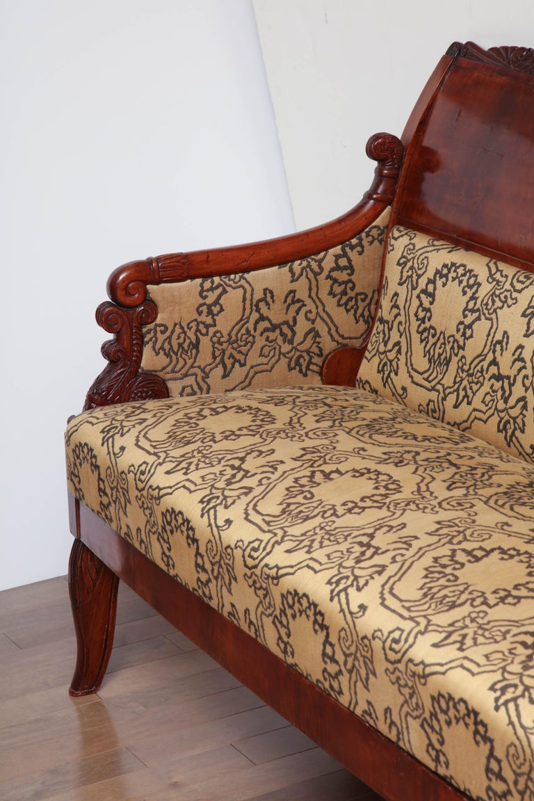 19th Century Russian Neoclassical Sofa For Sale 6