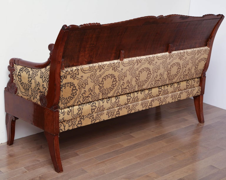 19th Century Russian Neoclassical Sofa For Sale 8
