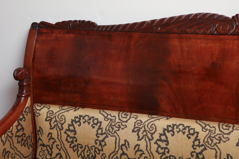 19th Century Russian Neoclassical Sofa For Sale 2