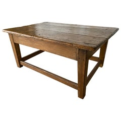 19th Century Rustic Antique Coffee Table