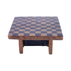 19th Century Rustic Antique Pine Game Board, circa 1840