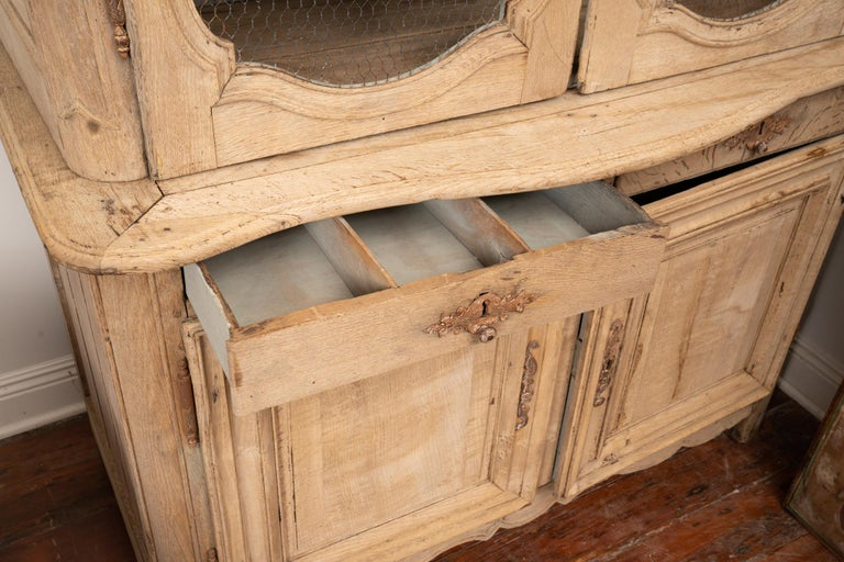 French 19th Century Rustic Buffet de Corps For Sale