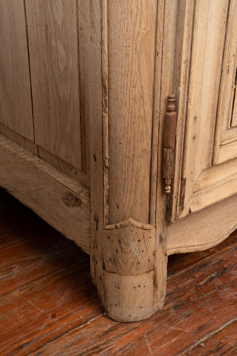 Wood 19th Century Rustic Buffet de Corps For Sale