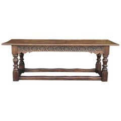 19th Century Rustic Country French Farm Table