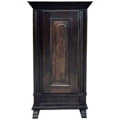 19th Century Rustic Dutch Bonnetiere, Cabinet