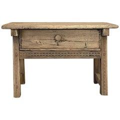 19th Century Rustic Dutch Side Table