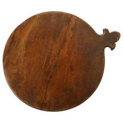 19th Century Rustic French Elm Cheese Board