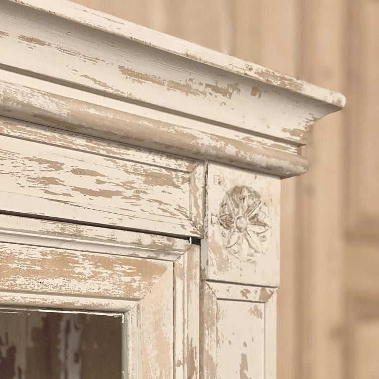 19th Century Rustic French Neoclassical Bookcase For Sale 10