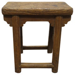 19th Century Rustic Stool Table