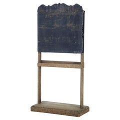 19th Century Rustic Swedish Children's Blackboard