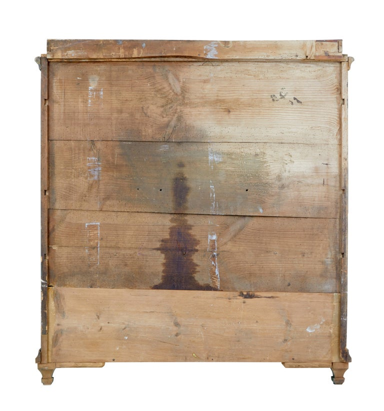 19th Century Rustic Swedish Painted Pine Sideboard 7