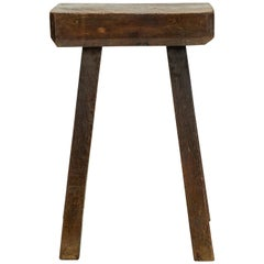 19th Century Rustic Table or Stool