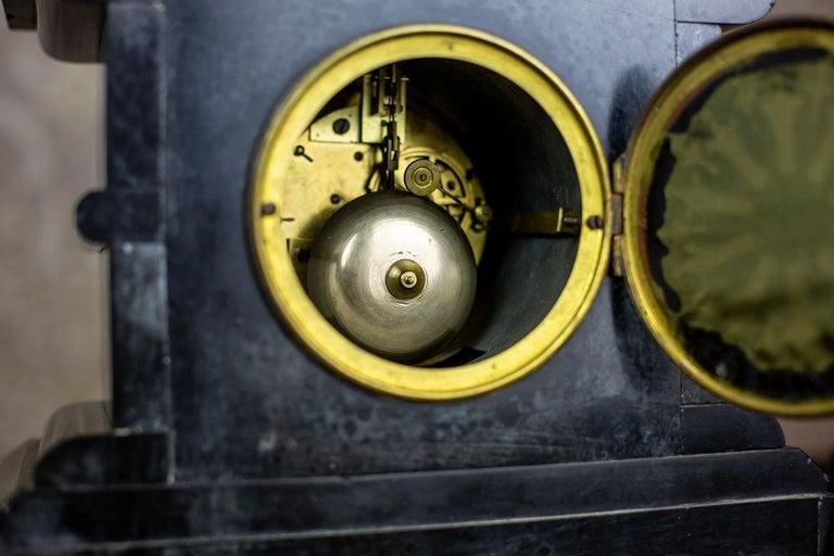 19th Century S. Marti & Cie Mantle Clock Set For Sale 6