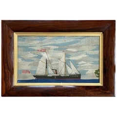 19th Century Sailor's Woolie of the Scottish Schooner MARY