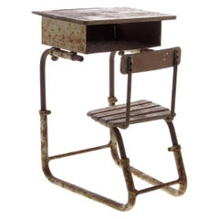 19th Century Salesman Sample of a French School Desk