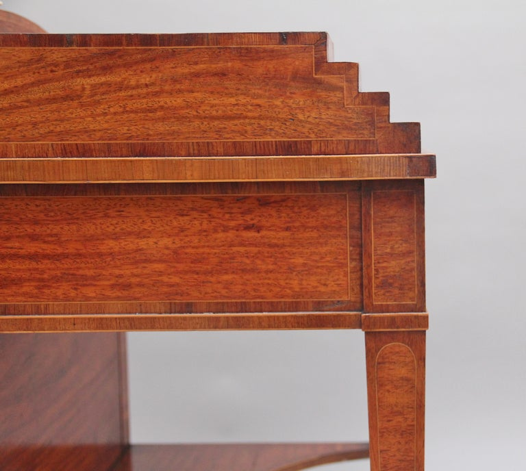 19th Century Satinwood Ladies Writing Table For Sale 6