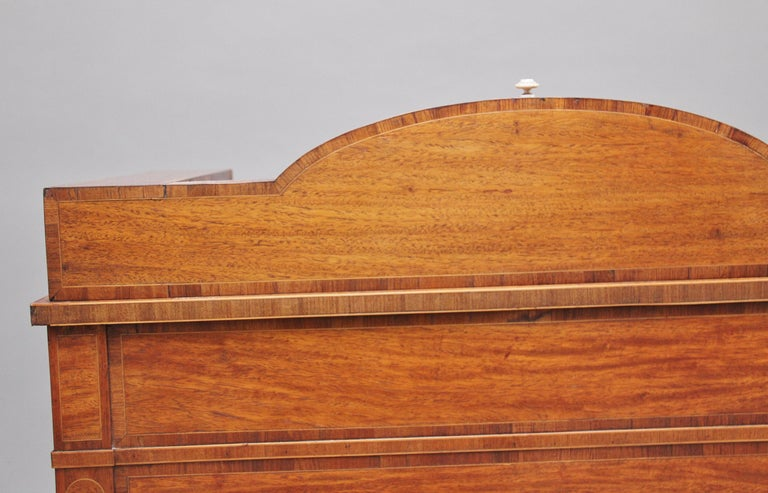 19th Century Satinwood Ladies Writing Table For Sale 8
