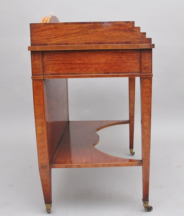 19th Century Satinwood Ladies Writing Table For Sale 2