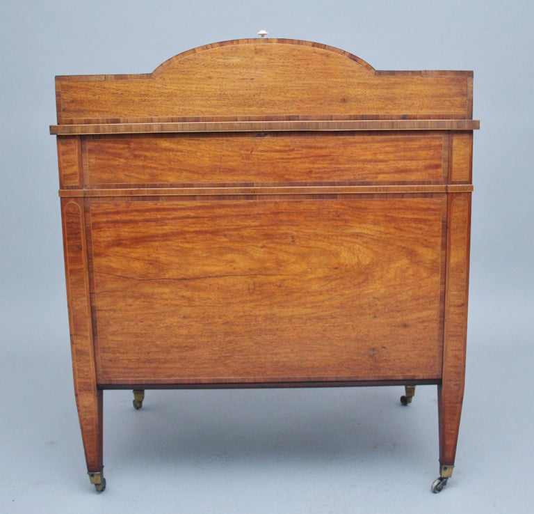 19th Century Satinwood Ladies Writing Table For Sale 3