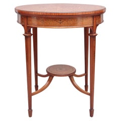 19th Century Satinwood Occasional Table