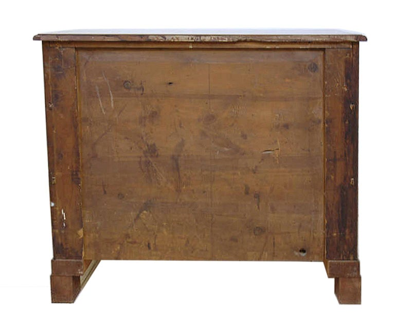 19th Century Scandinavian Empire Chest of Drawers in West Indies Mahogany 13